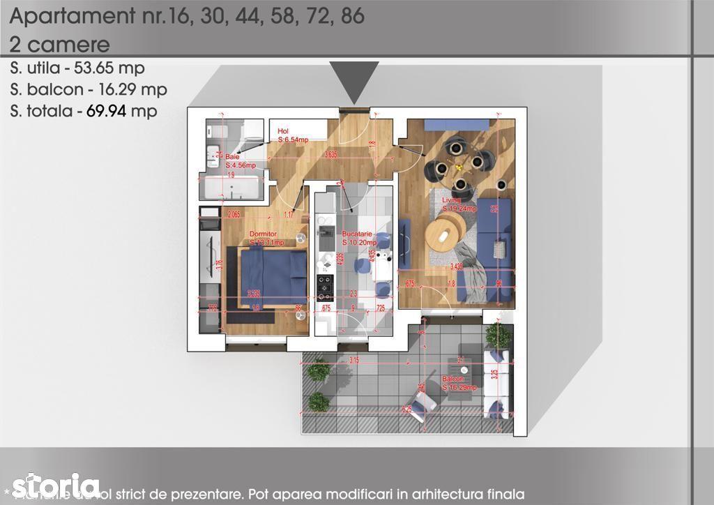 Apartament 2 camere Titan  - Metrou 1 Decembrie