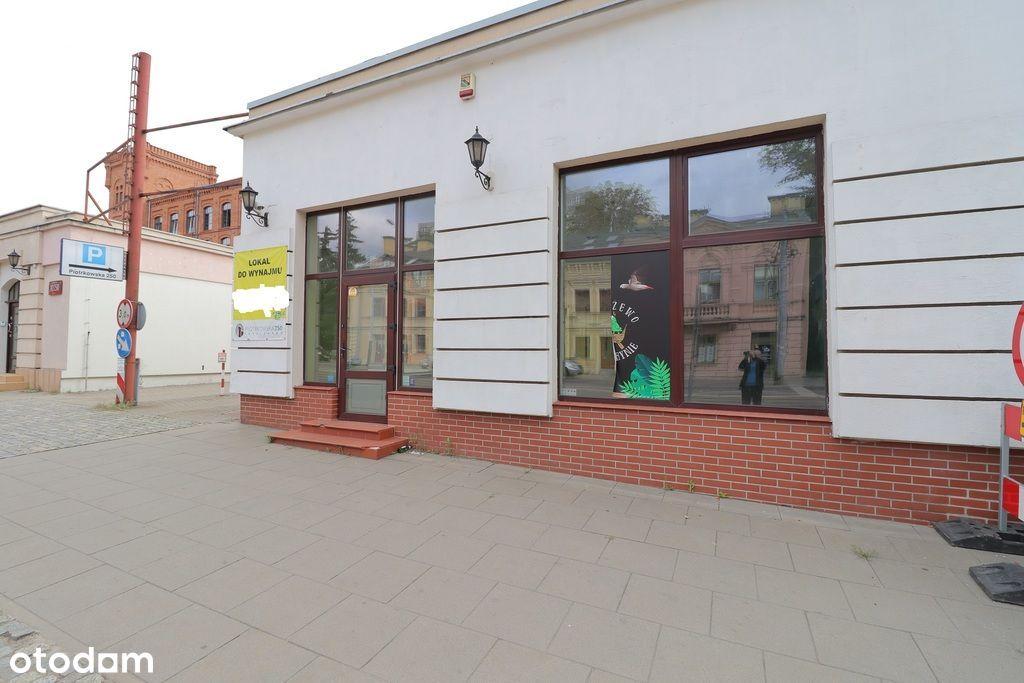 Lokal na wynajem z witrynami Piotrkowska
