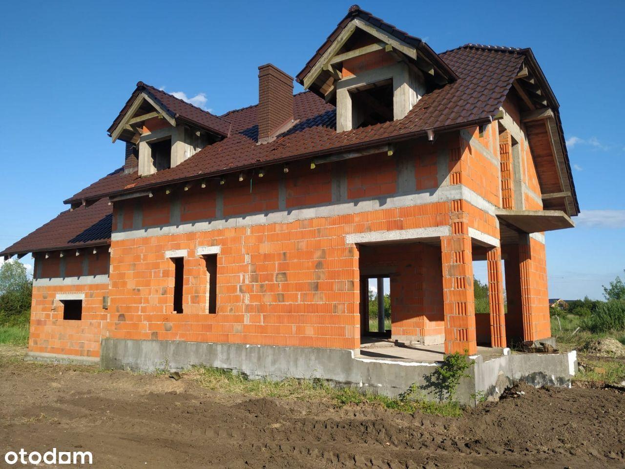 Dzialka 2487m2 wraz z domem 176m2