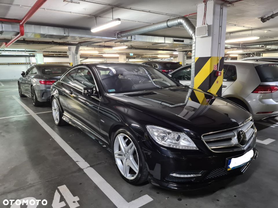 Mercedes-Benz CL Mercedes Benz CL 500 Blue Efficiency, - 11