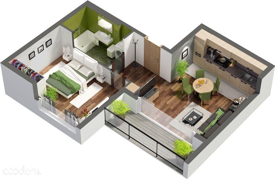 2-pokojowe mieszkanie, bezpośrednio od dewelopera