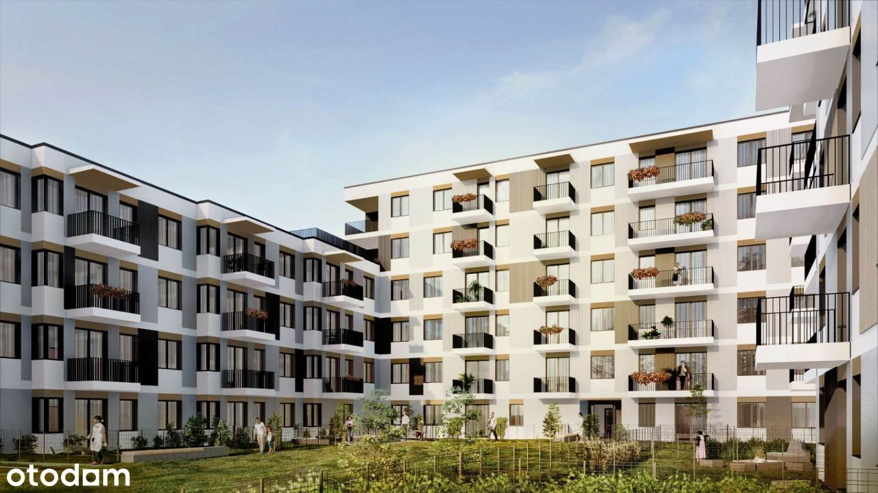 Ustawne Mieszkanie Bliski Marcelin 1A12