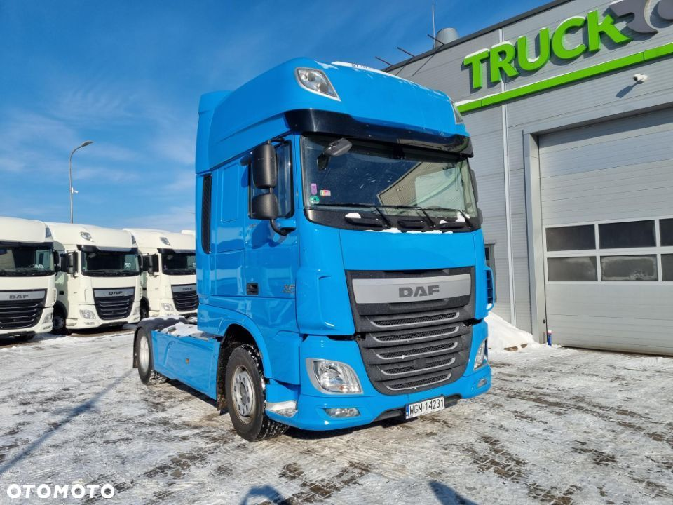 DAF XF460 Super Space klima  Salon PL. spojlery - 1