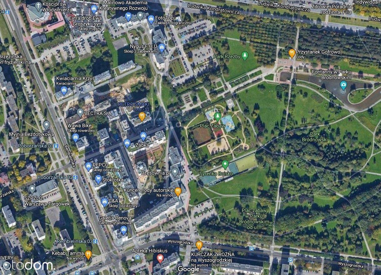 Działka przy Parku Bródnowskim!