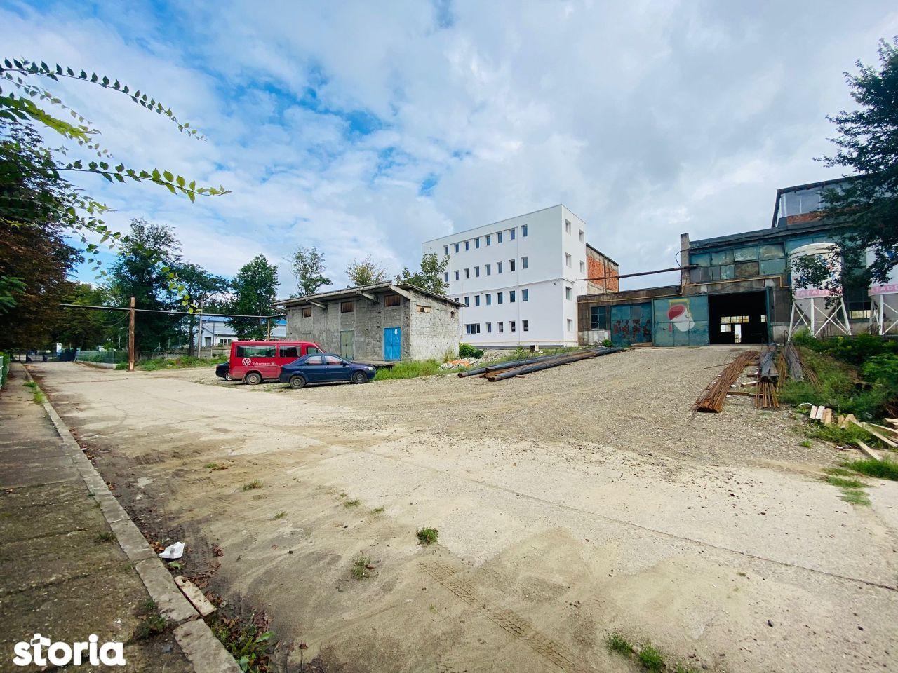 Hala renovabila, 4.093mp, pt. productie, depozitare, Tatarasi