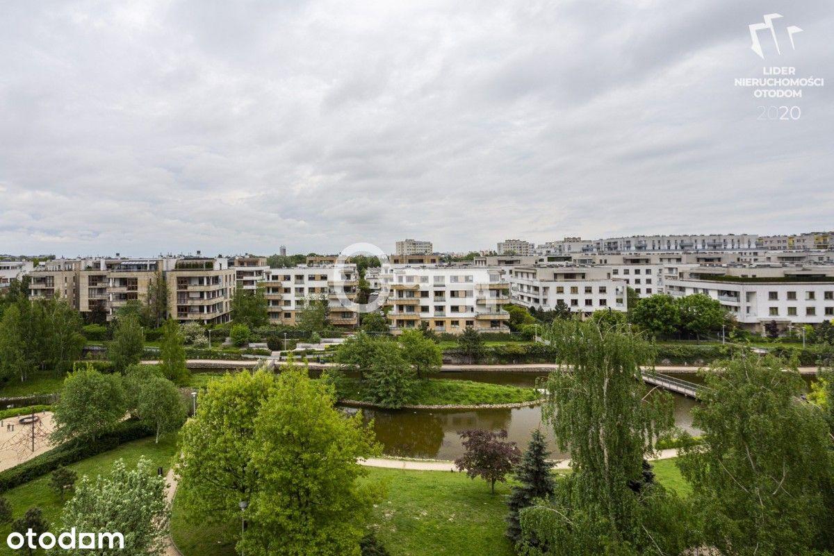 Marina Mokotów | 50 m2 | Duży balkon z widokiem