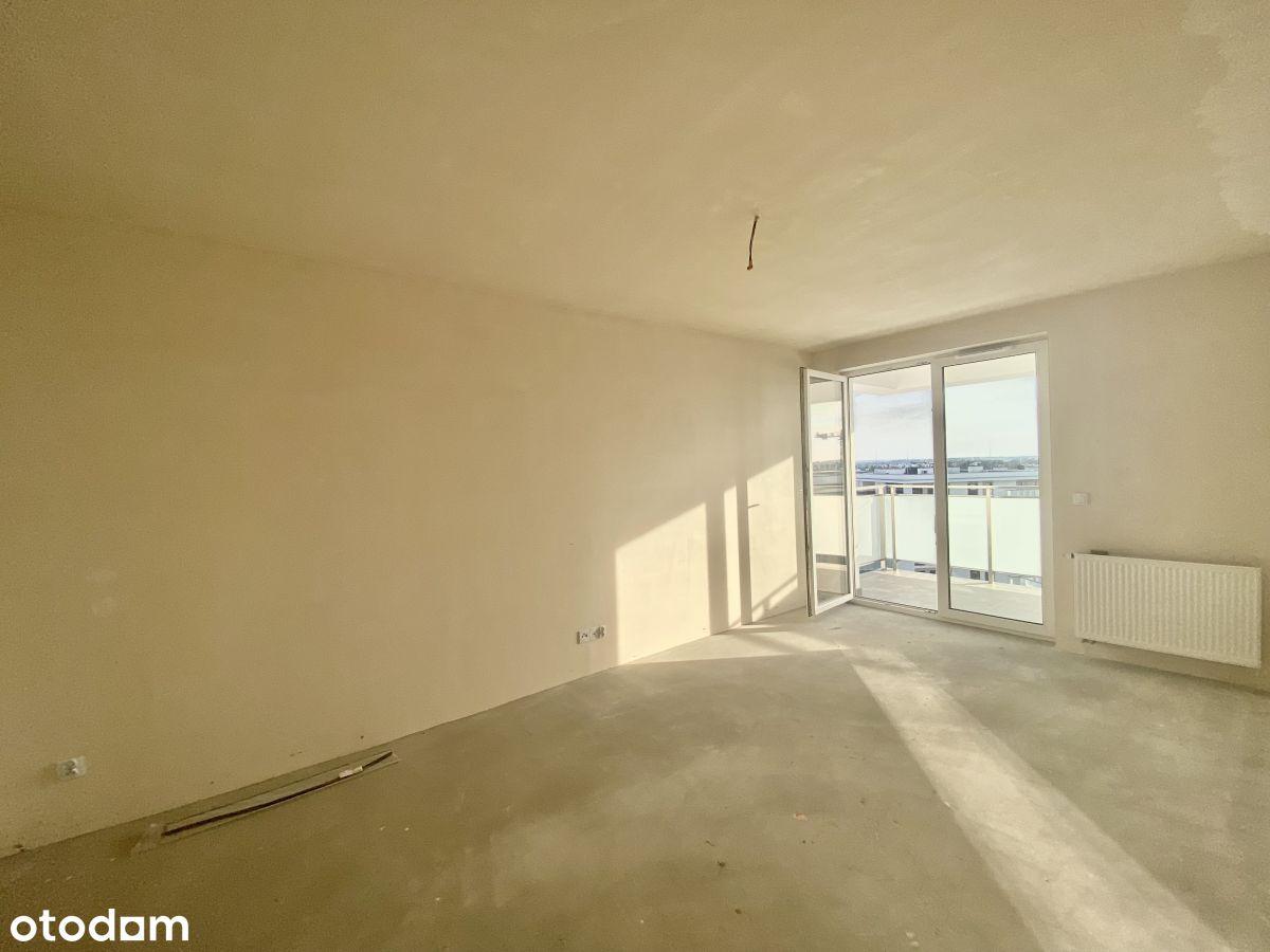 Nowe mieszkanie z pięknym balkonem - Węglinek