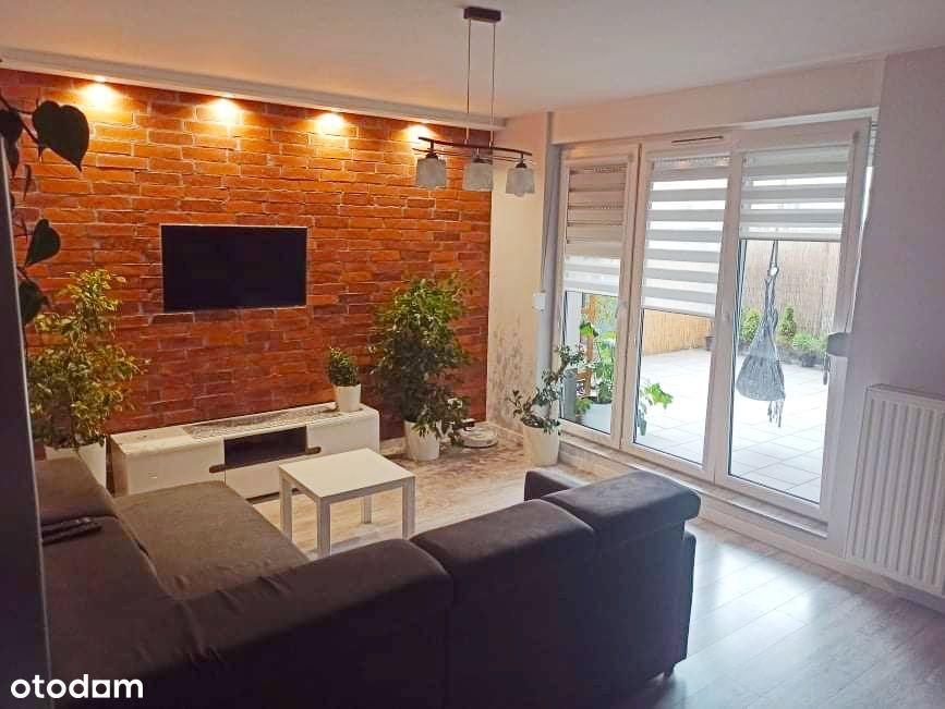 Mieszkanie 3 pok63 m2 z tarasem, garażem i kom lok