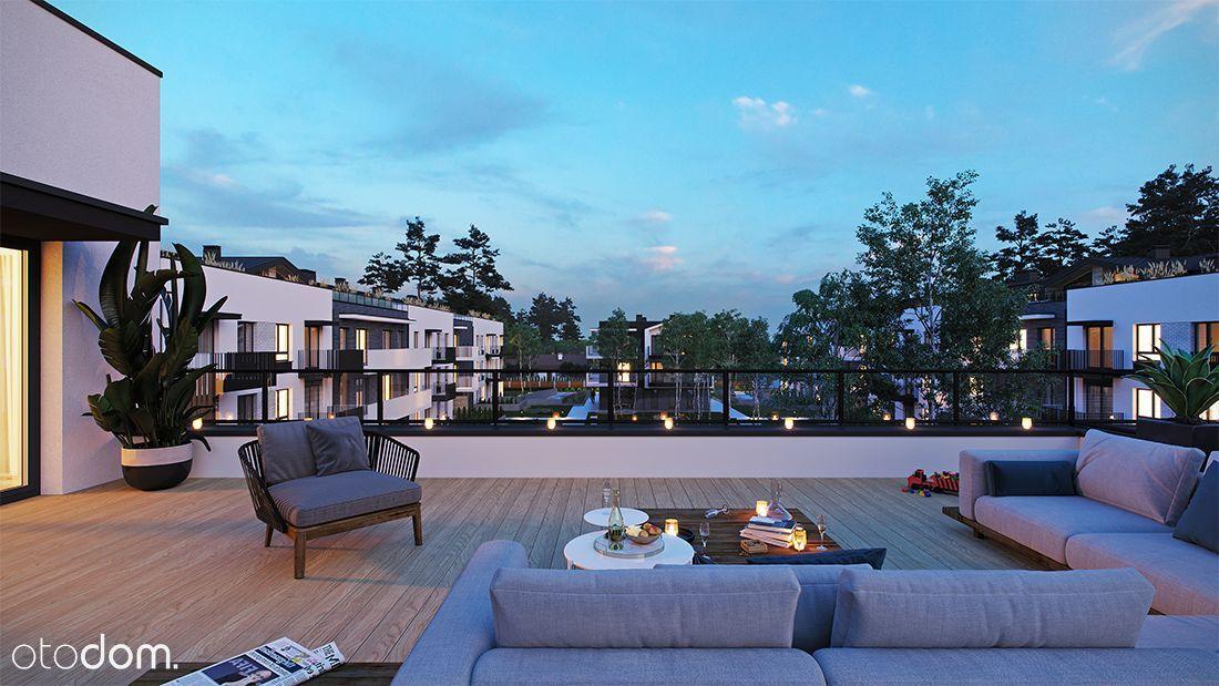Zielonki Residence, mieszkanie 76m2 taras 50m2