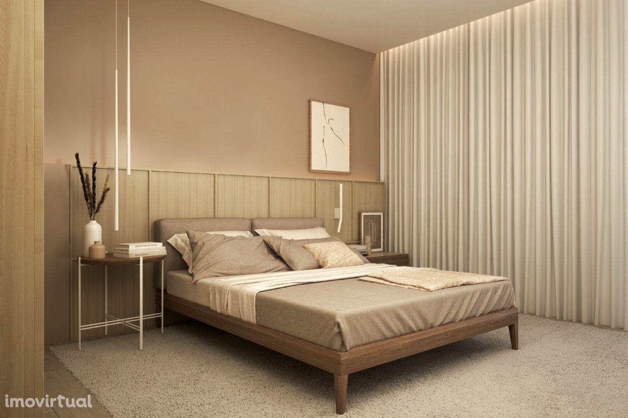 Apartamentos T4 de excelência em condomínio fechado
