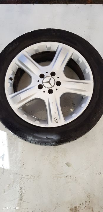 Janta aliaj set 5x112 ,r19 ,vara ,uzate  Mercedes-Benz ML / M-CLASS  - fabricatie:  2005 > ML 320 C - 12
