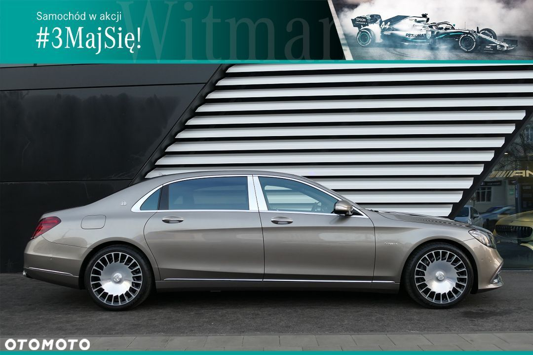 Mercedes-Benz Klasa S 560 4Matic Maybach, Designo, NightView, Dealer Witman, Nr. 04275 - 1
