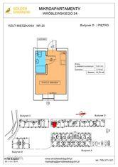 Mieszkanie nr 20 (Budynek D) SPRZEDANE