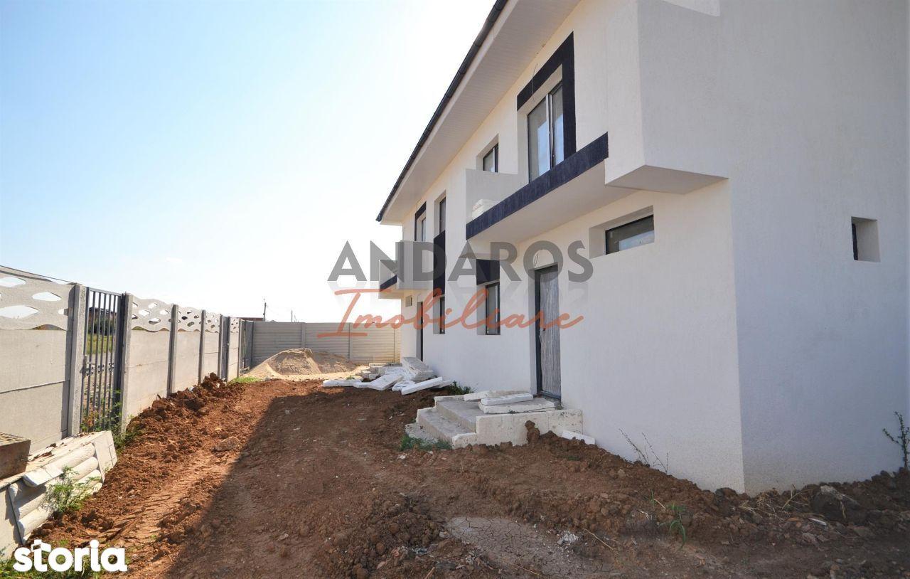 Vila zid separat la calcan Bragadiru, granita Sector 5, București