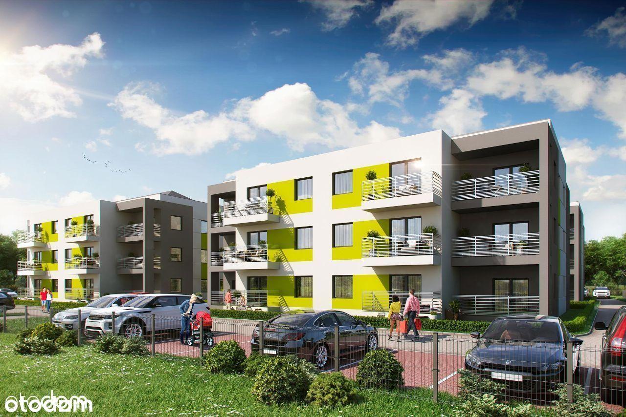 Nowe mieszkanie 51,06 m parter KONSTANTYNÓW