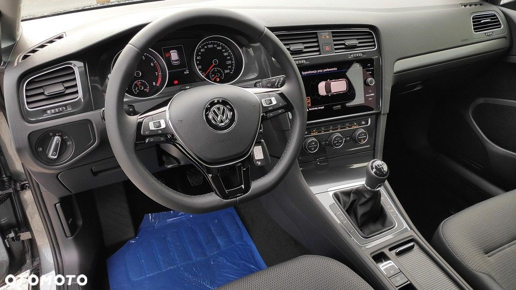 Volkswagen Golf Rabat 23 000 zł Comfortline 1.5 TSI ACT BlueMotion 130KM manualna DEMO - 11