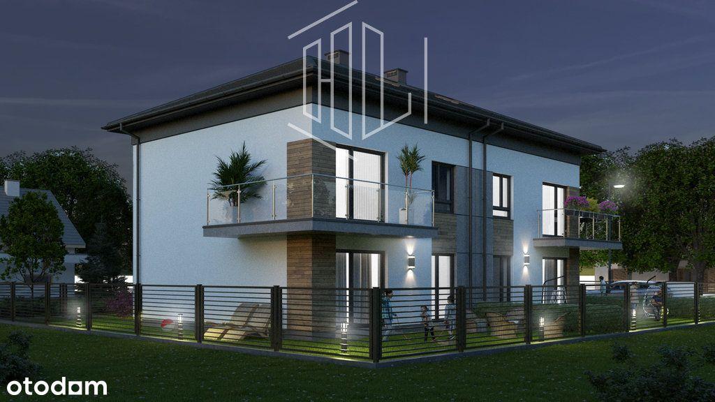 Podwyższony standard ogródek do mieszkania parking