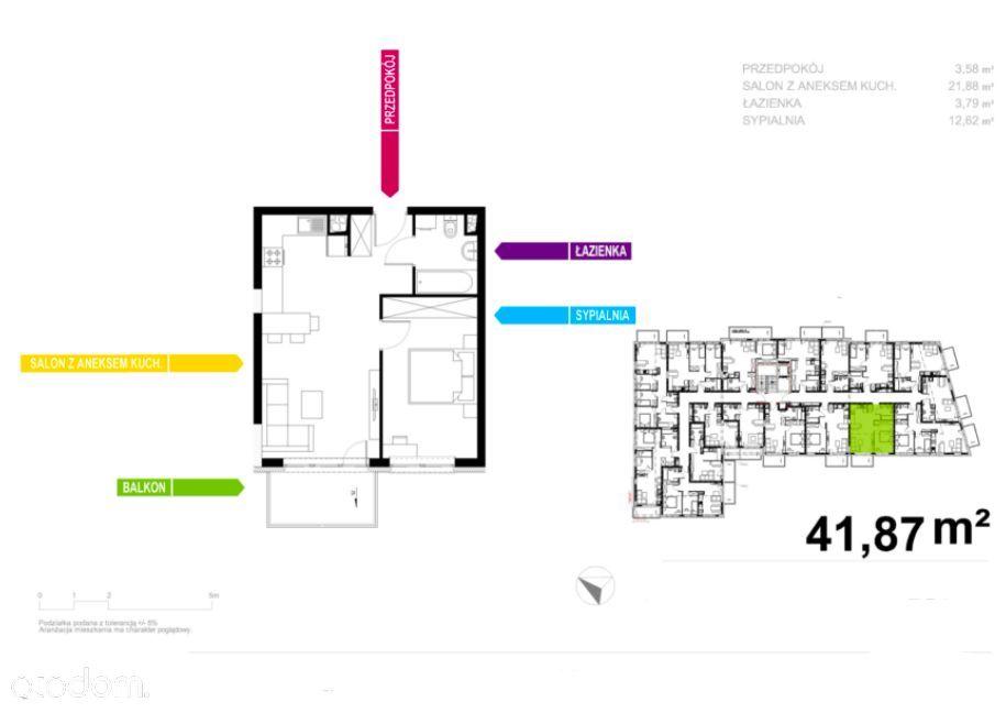 Ustawne 2 Pokoje/Smart Home/Nowe od Dewelopera-0%
