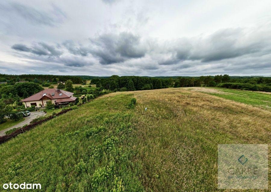 Działka na wyspie Wolin w Kołczewie przy polu golf