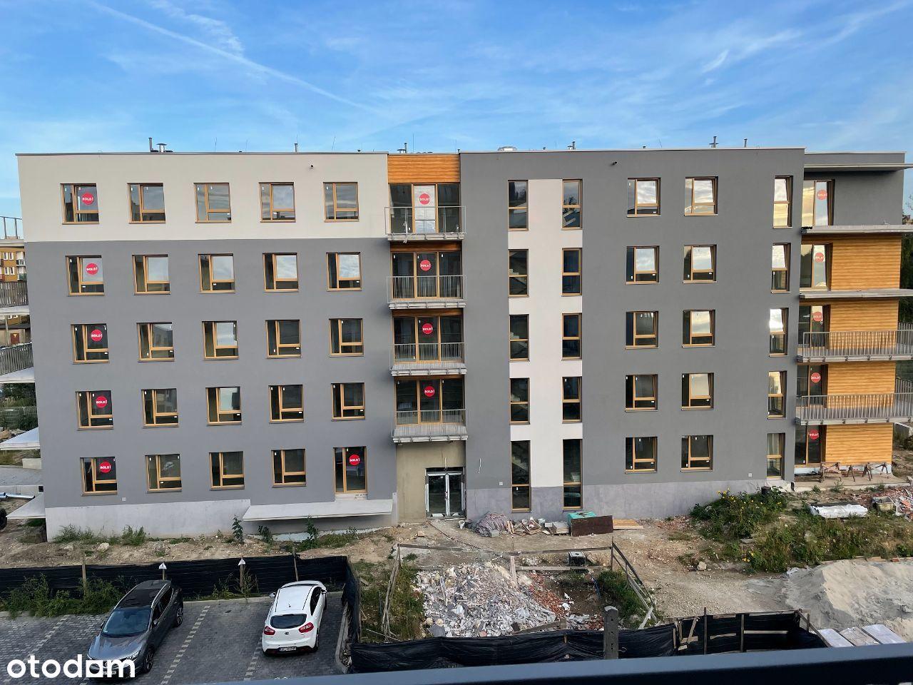 Nowoczesne Mieszkanie 2 pokoje 39,49m2 Taras 13,64