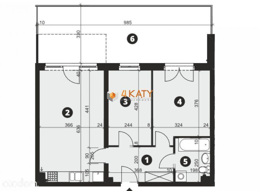 ____ Komfortowe 3 Pokoje 57,70 M2, Bez Pcc!! _____