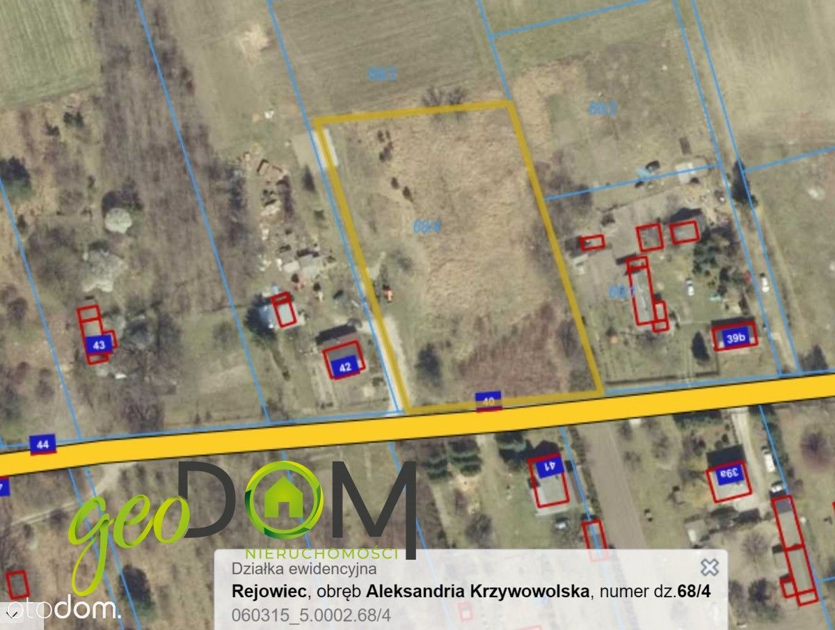 Działka budowlana/siedliskowa - w cichej okolicy