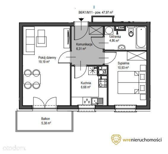 2 pokoje w podwyższonym standardzie/Poświętne