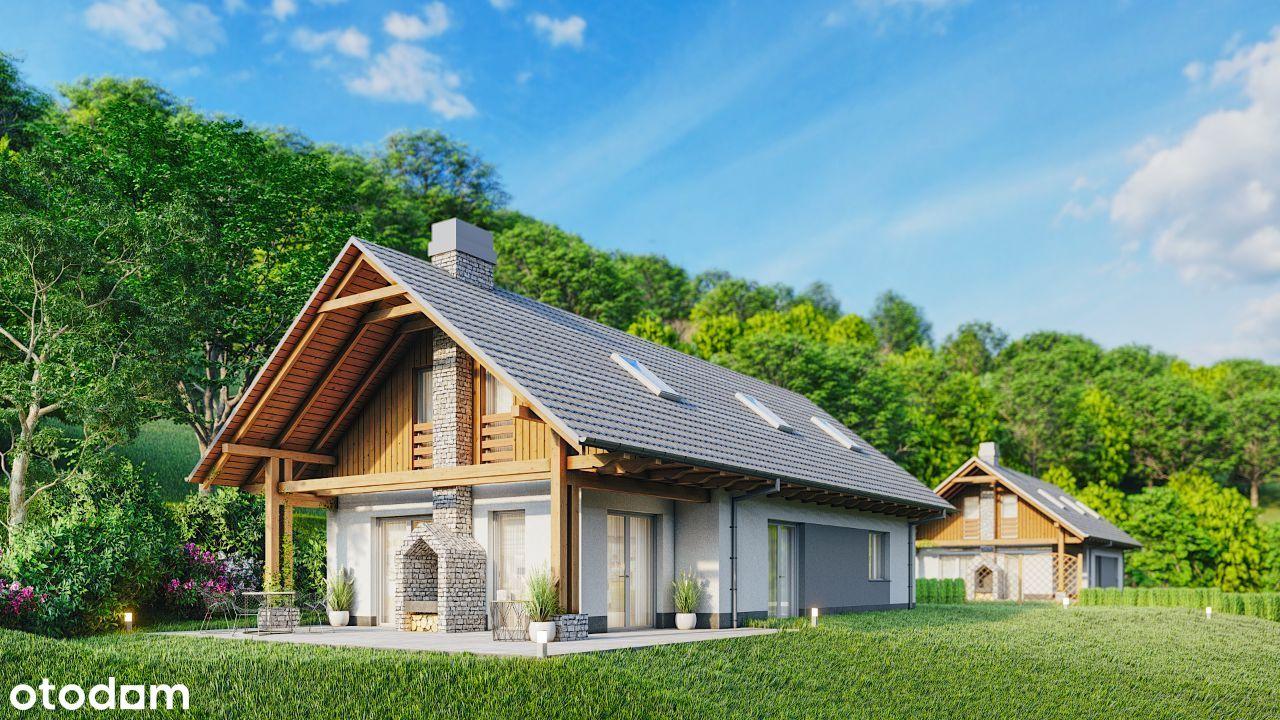 Nowy dom, Krzeczów, Beskidy, piękne widoki, 164m2