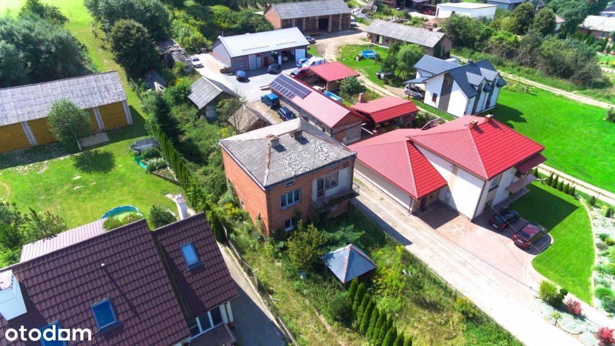 Dzierzkowice dom z polem