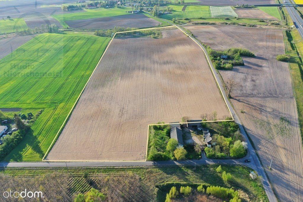 Działka rolna z dużymi możliwościami.