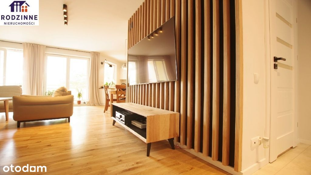Komfortowe 100 metrowe mieszkanie z 4 sypialniami