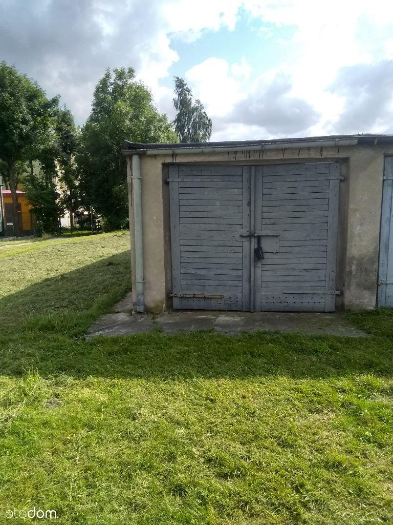 Murowany garaż w Śródmieściu Olsztyna