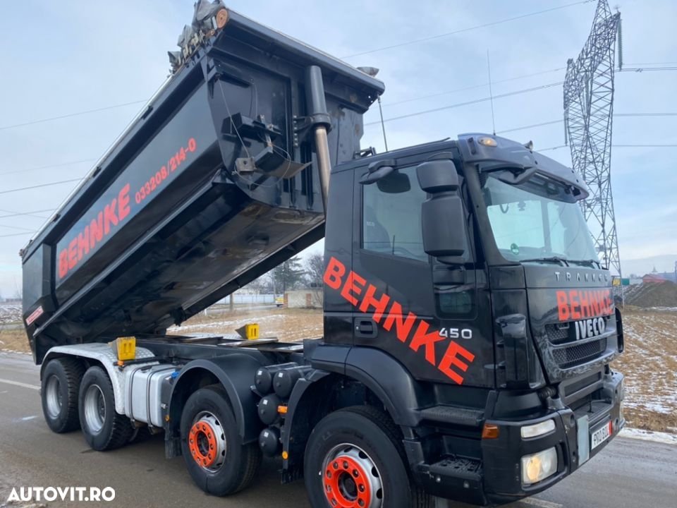 Iveco 8x4 man Iveco DAF - 3