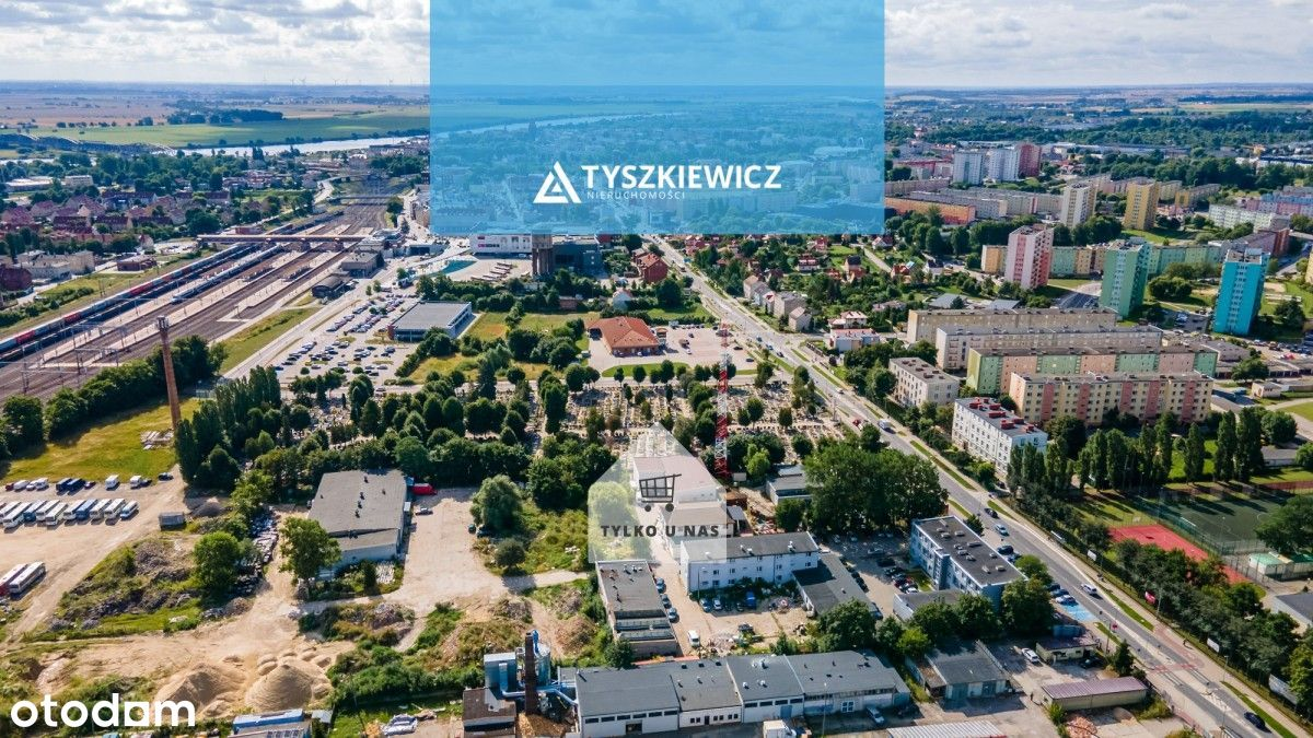 Magazyn z biurami w dobrej lokalizacji w Tczewie