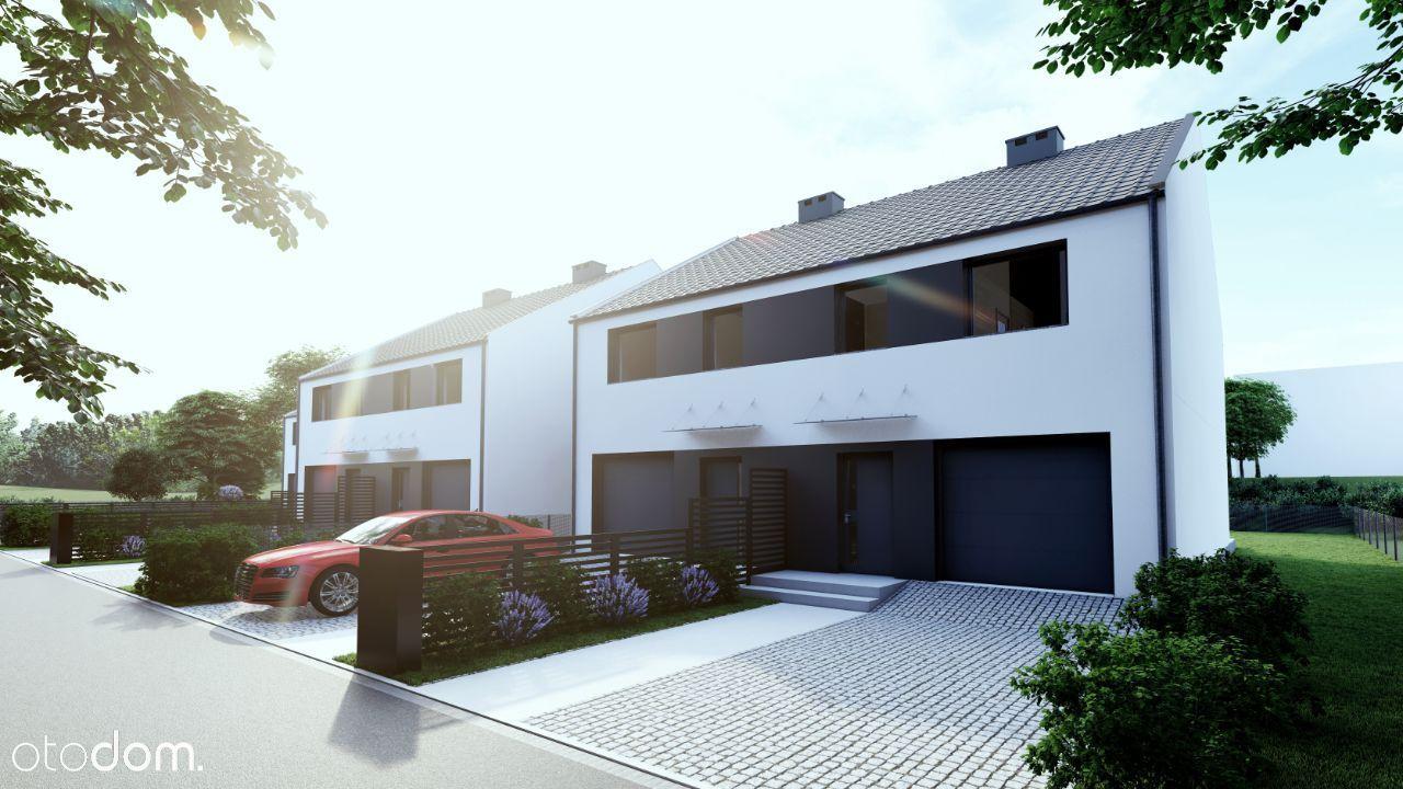 Nowy dom z garażem117m2 w Bolesławcu z ogródkiem