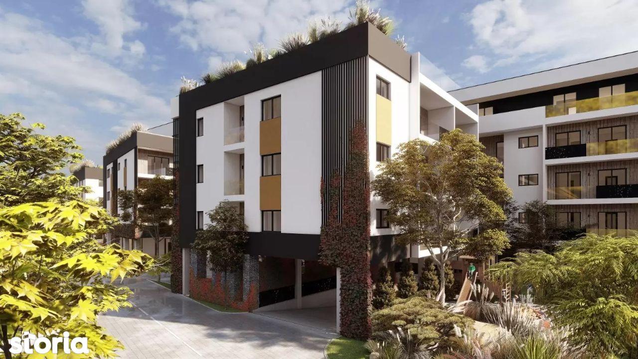 Ansamblu rezidential nou, suprafete cuprinde intre 52 si 110 mp