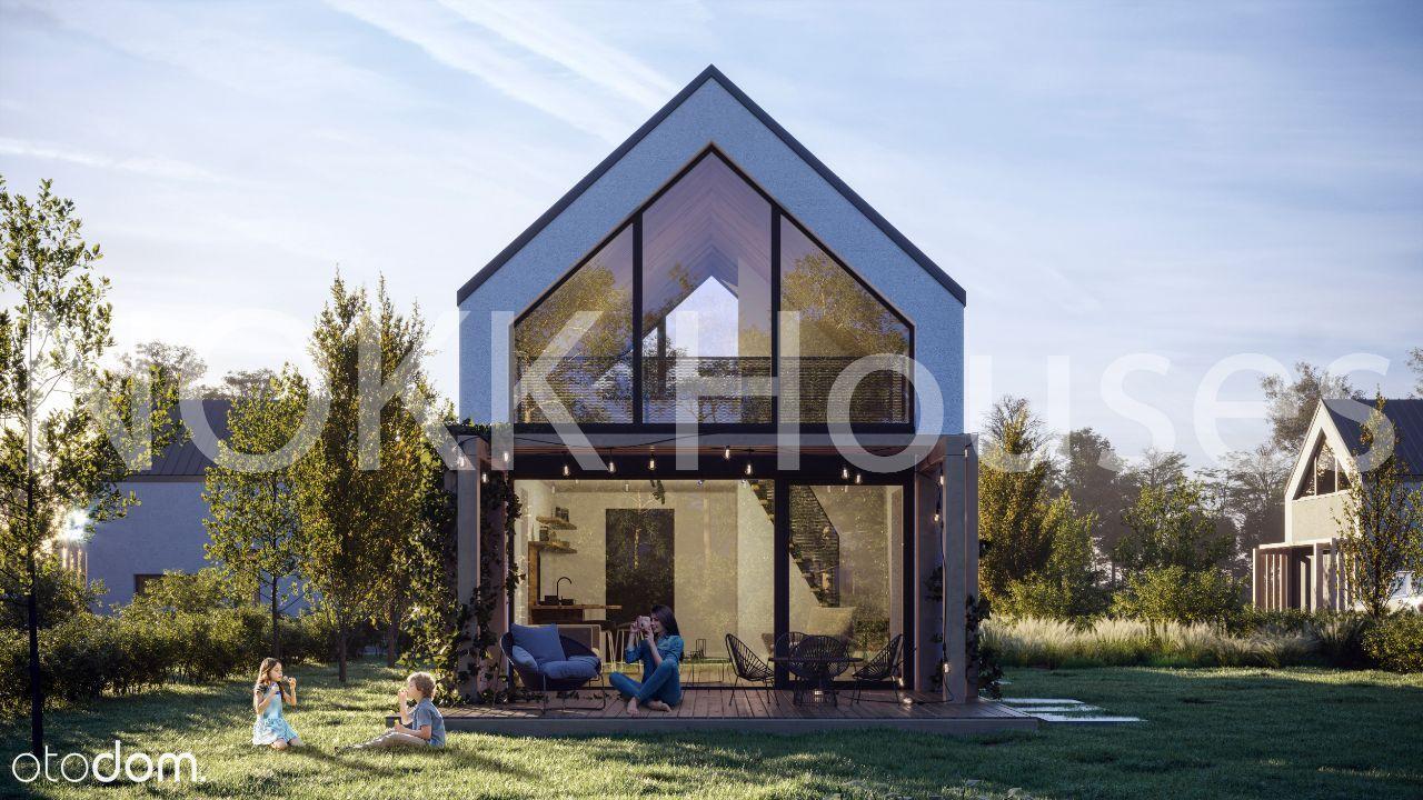 Nokk Houses nowoczesna stodoła nad jeziorem