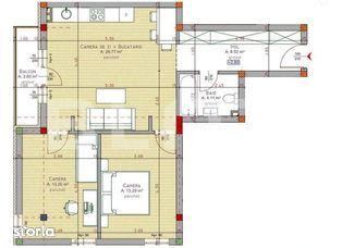 Vanzare 3 camere, 65.89 mp, zona piata 1 Mai, optional parcare