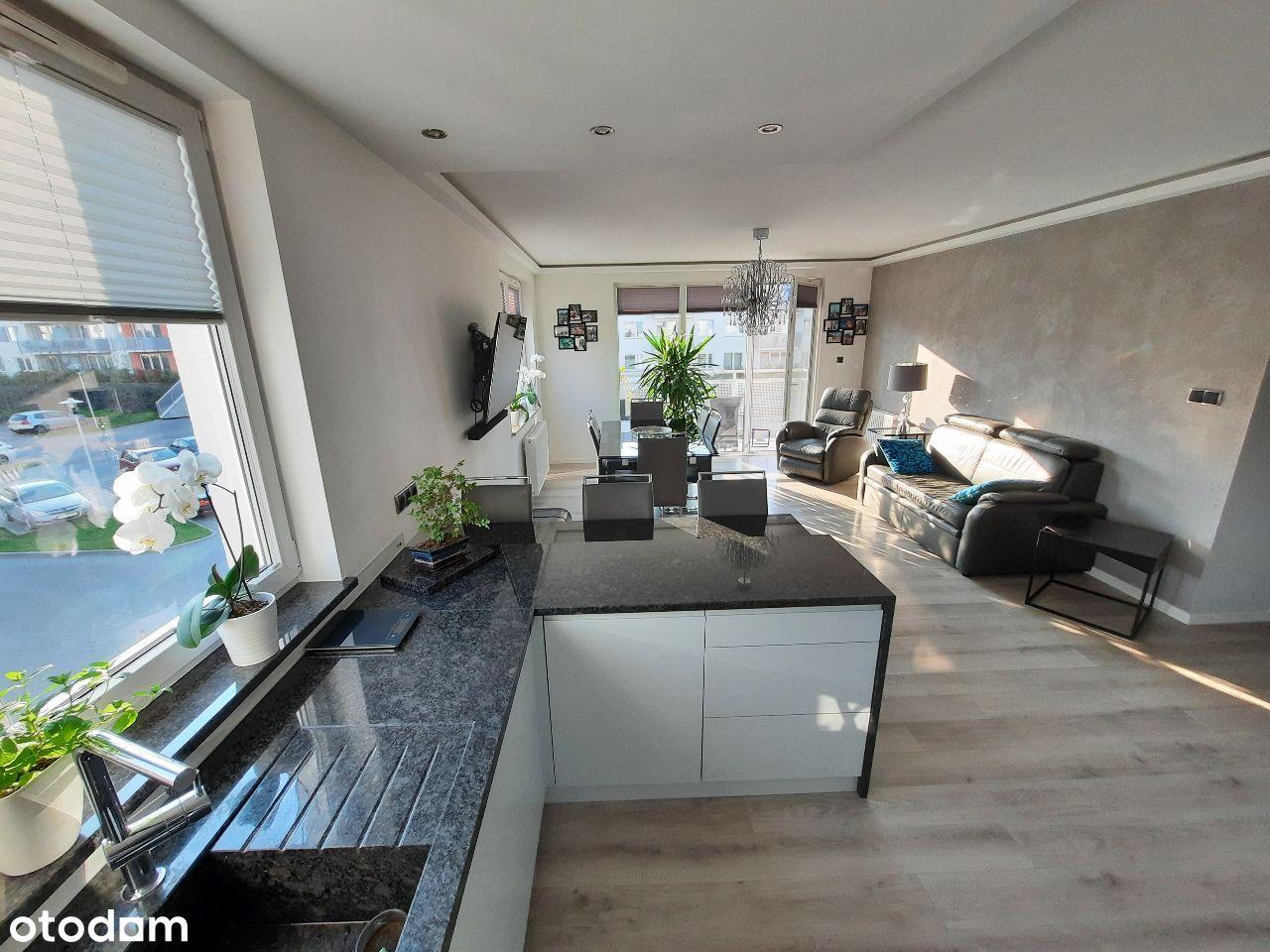 Słoneczne mieszkanie 71,88m2, Gdynia Wiczlino