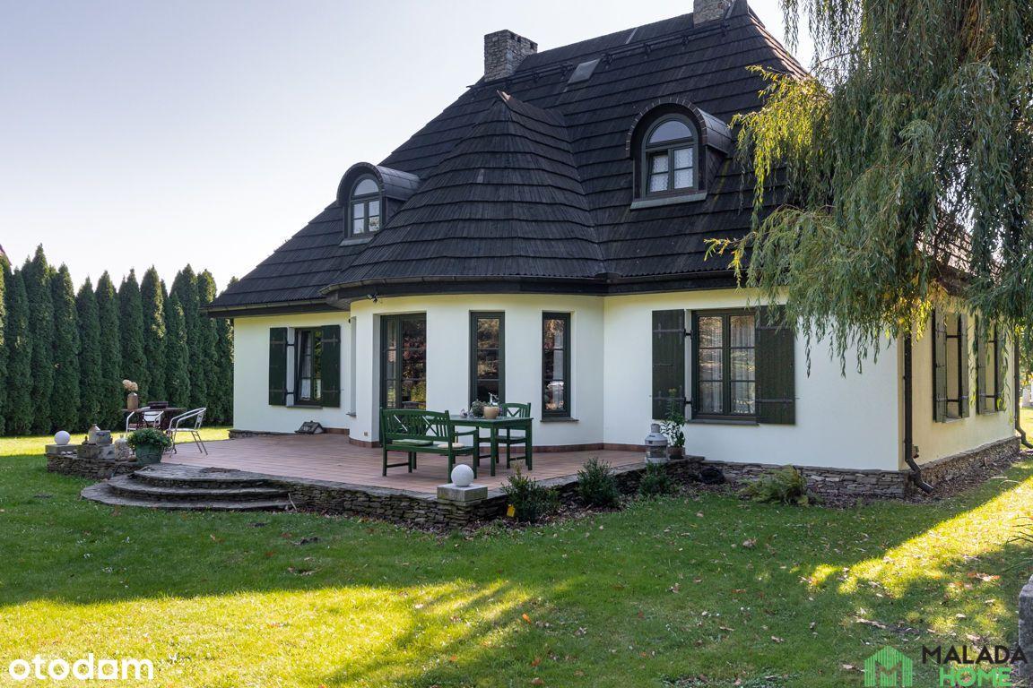 Bajkowy dom z furtką do lasu