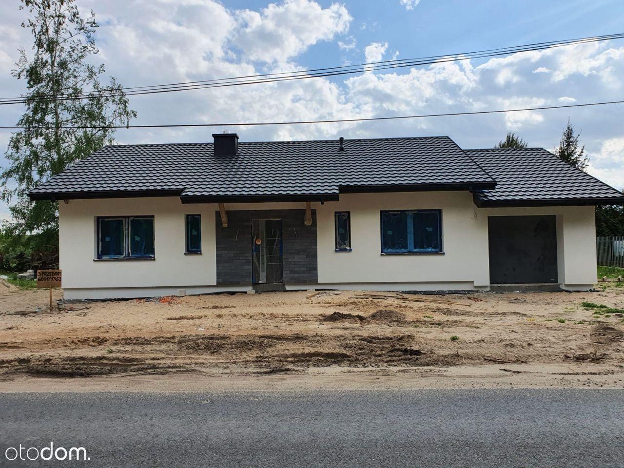 Dom w Osieku N. Wisłą w stanie deweloperskim