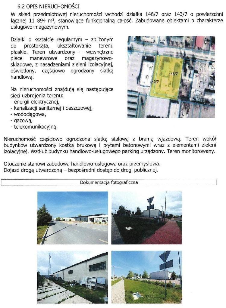 Lokal użytkowy, 2 773,07 m², Rawicz