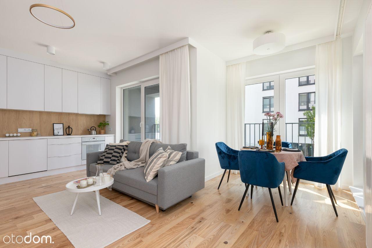 nowe, wykończone mieszkanie, 2 balk, 2ms postojowe