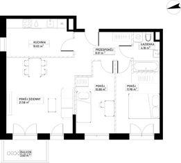 Mieszkanie A81 Harmonia+ Karpia 27
