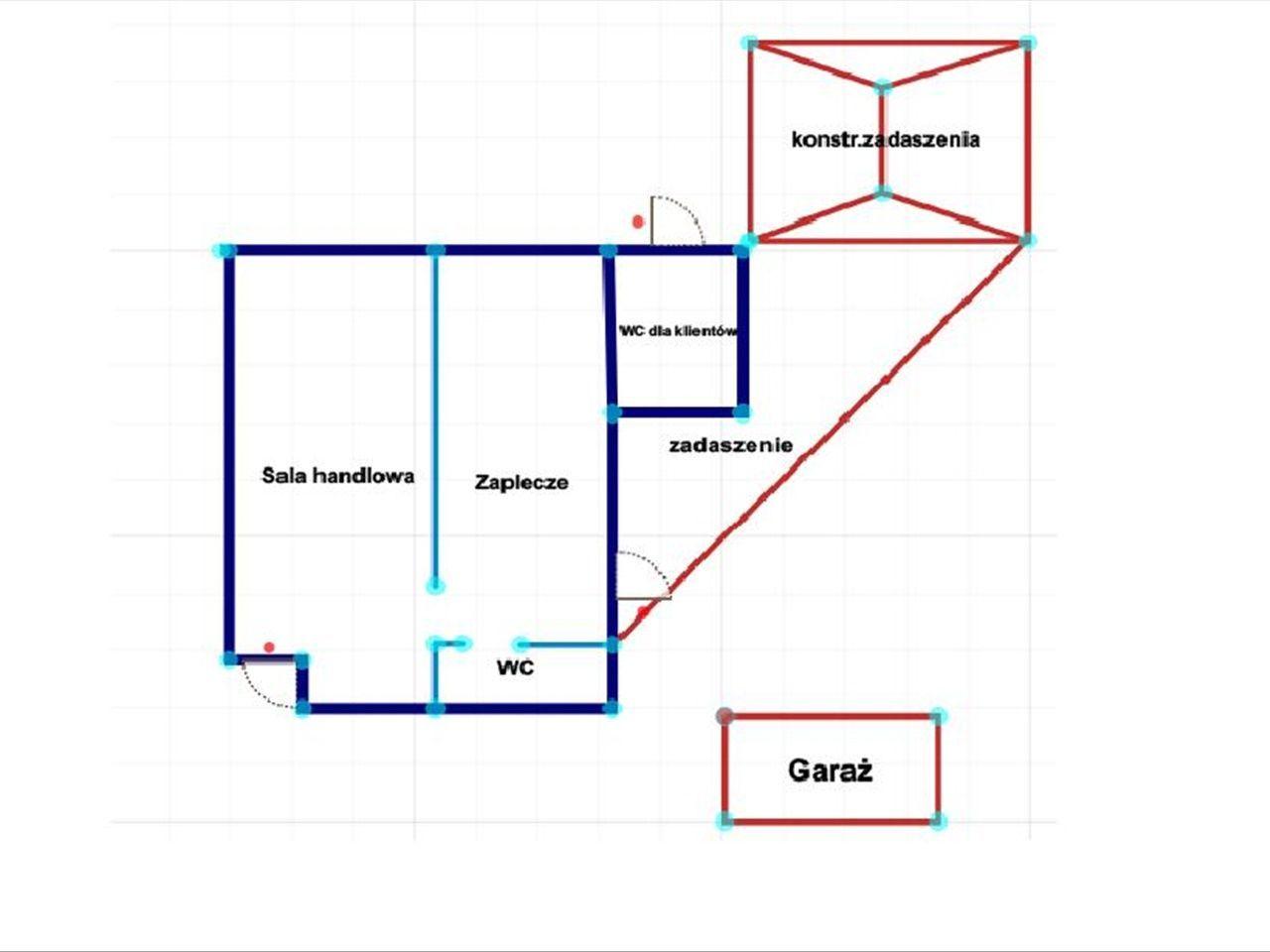 Lokal użytkowy, 49 m², Zofiówka