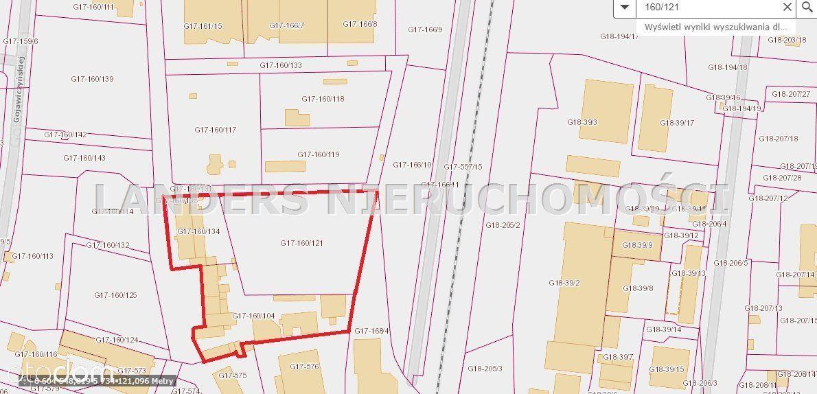 Działka, 15 659 m², Łódź