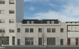 Apartamento T1 com sala e cozinha em Open Space
