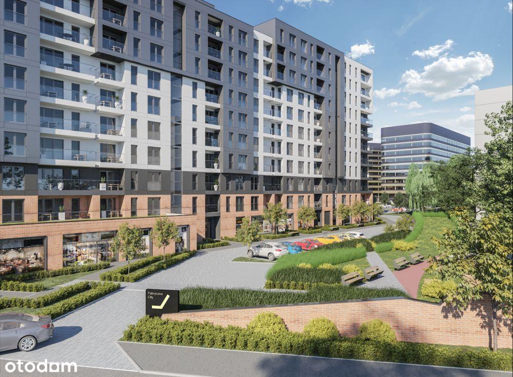Apartament w inwestycji Fabryczna City M16