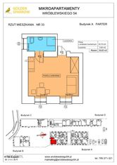 Mieszkanie nr 33 (Budynek A) SPRZEDANE