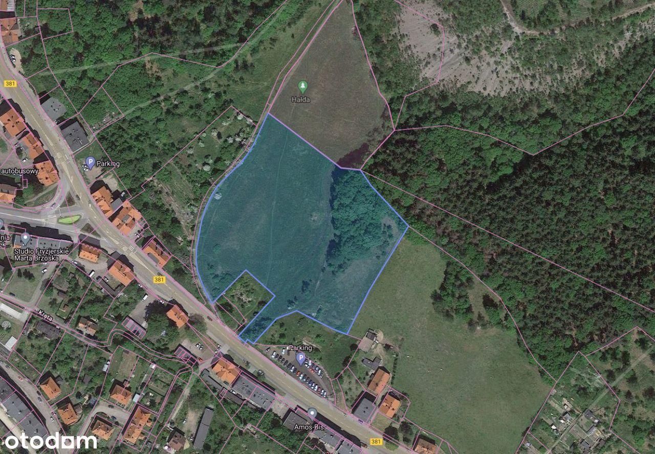 Działka Wałbrzych Nowe Miasto 1.64 ha
